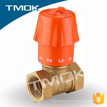 válvula de control de solenoide hidráulico de latón