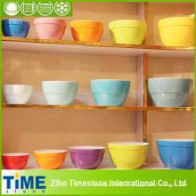 Juego de tazones de fuente grande de mezcla de cerámica (15031702)