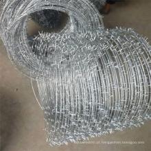 Arame farpado galvanizado mergulhado a quente de baixo preço