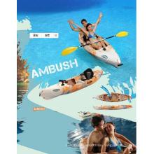 Erwachsene + Kind Erholung Sit on Top Inshore / Offshore Angeln Kajak