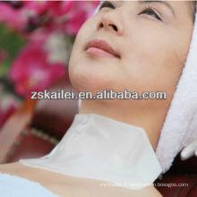 coréen blanchissant le masque de cou de collagène de cristal