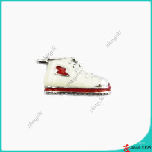 White Enamel Sneaker Charm (SPE)