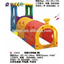 JQC2870 Kid's túnel miúdos túnel de plástico crianças jogar túnel
