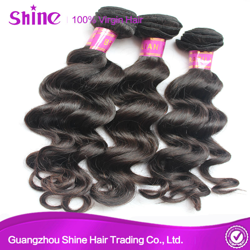 Human Hair Extension Loose Curl
