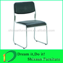 2015 HOT SELL LEATHER STEEL CONFERENCE OFFICE CHAIR