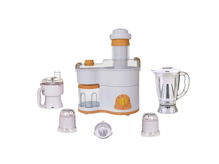Plastic jar food processor 7 in 1