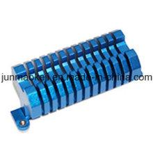 Blaue Farbe Aluminiumkühler für Maschine