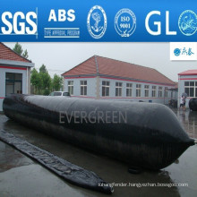 High buoyancy marine boat rubber ship launching airbag Salvage Tube salvage airbag for sale