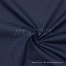 Walf vérifie le tissu de polyester de Jacquard pour des vestes occasionnelles