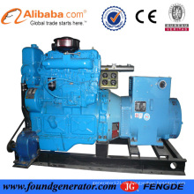 50Hz 3 Ph CCS genehmigt Shangchai 75KW Marine-Generator-Set