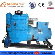 50Hz 3 Ph CCS aprovado Shangchai 75KW grupo gerador marinho