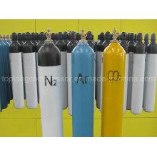 Cilindros de gás de aço sem costura de alta pressão da China Professional Fabricante