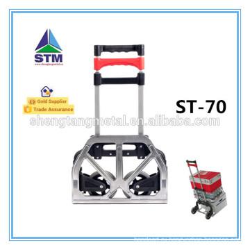 Алюминиевый складной тележки с два колеса