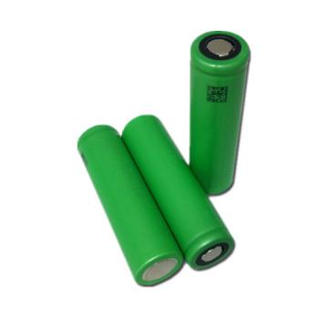 Bateria de iões de lítio de 3.7V 2600mAh bateria recarregável Vtc5 de descarga 30A