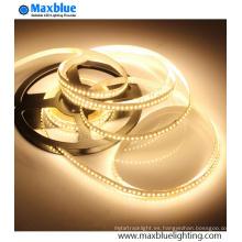 Luz de tira de alta densidad 3014 SMD LED 204LEDs / M