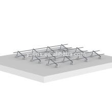Diseño de estructura de montaje de panel solar de techo plano ajustable de energía solar