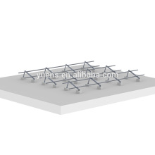 Solar Energy Adjustable Flat Roof Solar Panel Mounting Structure Design