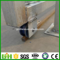 GM best price powder coated modern iron house sliding gate design for homes