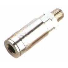 Thread Zinc Plated Brass, Steel Hydraulic Quick Couplers For High Pressure Air Ty12