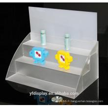 Affichage du modèle jouet acrylique sur mesure