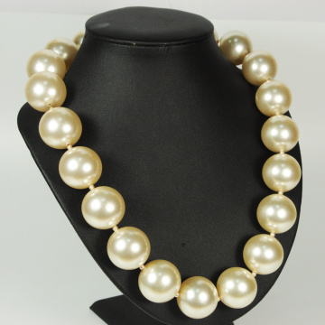 30mm Large Pearl Necklaces Jewelry