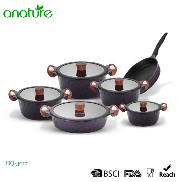 Aluminunm Die Cast Technology Cookware Set