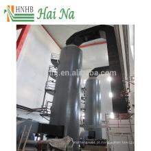 Torre de purificador de gás úmido para tratamento com dióxido de enxofre