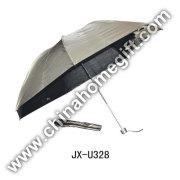 Doble-paraguas marrón