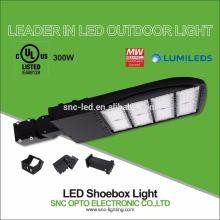 La UL CUL enumeró el alto lumen luz del área de 300 vatios LED con el montaje ajustador ajustable