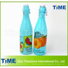 Botella del aerosol de la categoría alimenticia de la vendimia 500ml en el vidrio para el jugo