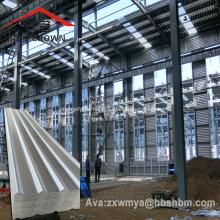 Tejas de techo de MgO de aluminio reforzado con tela de fibra de vidrio