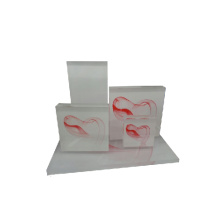 Red Flying Cloud Shape Jewelry Acrylic Display Windows Vente en gros (WST-ACK-WR)