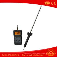 Medidor de umidade de areia de pó de carvão Pms710 Probador de umidade do solo