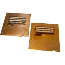 Kupfer Metall Laserschneiden
