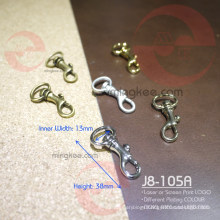 13mm Metal Zinc Alloy Small Dog Snap Hook