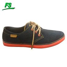 nuevo zapato de lona plano de los hombres del diseño