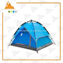 Tentes de camping de sports de plein air 3-4 personnes double tente automatique couche tente de randonnée