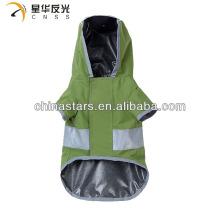 Отражательный зеленый жилет безопасности