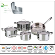 3ply Stainless Steel Multi-Purpose Cooking Pot