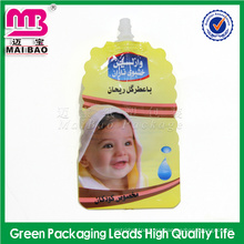 Llegue a bolsas automáticas de almacenamiento de leche materna reutilizables de calidad alimentaria con caño