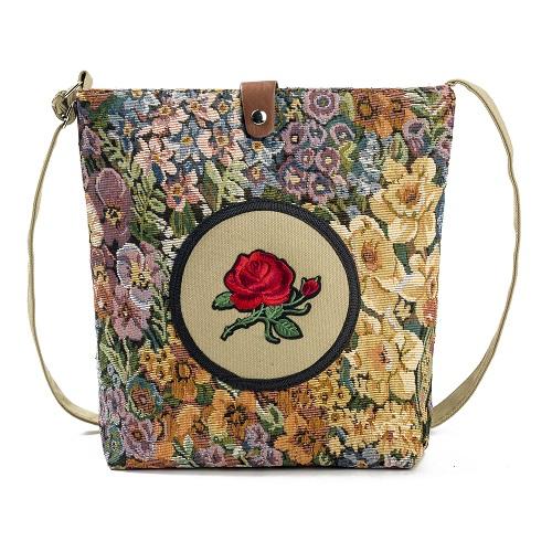Shoulder Bag Embroidery