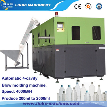 Maquinaria para moldeo por soplado de botellas para mascotas 4000bph en China