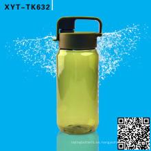 600ml botella de agua de tritan con el filtro, BPA libera la botella, botella plástica