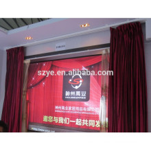 Quality double open electric stage curtain motor