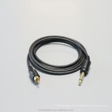 Cable RCA de tatuaje duradero de alta calidad para suministro de tatuajes