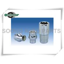 Zink-Schutz-Rad-Verschluss-Nüsse Schutz-Rad-Verschluss-Bolzen-Rad-Netz-Verschlüsse