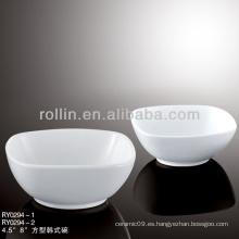 Vajilla estilo coreano de hotel y restaurante, cuenco de cerámica