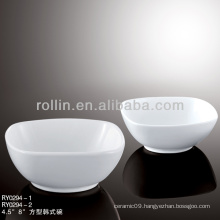 korean style hotel&restaurant dinnerware, ceramic bowl