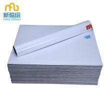Small Dry Erase Flat White Writing Board