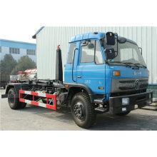 12CBM Dongfeng Tank Hook Lifting Garbage Truck Euro 4